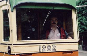 Me in July 2000 at the National Tramway Museum
