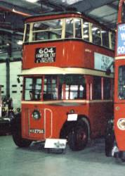 "London United Trolleybus No 1. These trolleybuses, known as ""Diddlers"" were built for LUT in 1931. They bore a distinct resemblance to the ""Feltham"" tramcars."