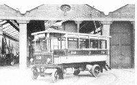 One of Bradfords' first trolleybuses.